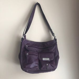 Beautiful plum purple Rossetti purse